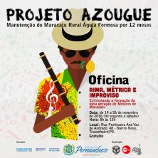 Maracatu Águia Formosa   Projeto Azougue