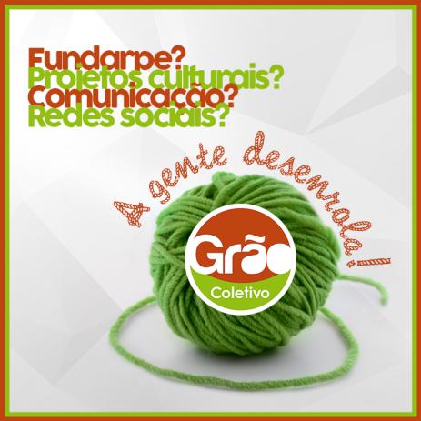 Cliente: Grão Coletivo. Peça: Redes Sociais. Design: Feed Comunicação