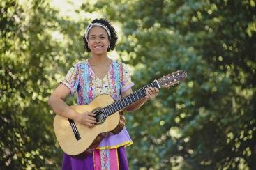 Camila Ribeiro. Espetáculo Minha Pequena África. Foto: Rafaella Ribeiro/Divulgação