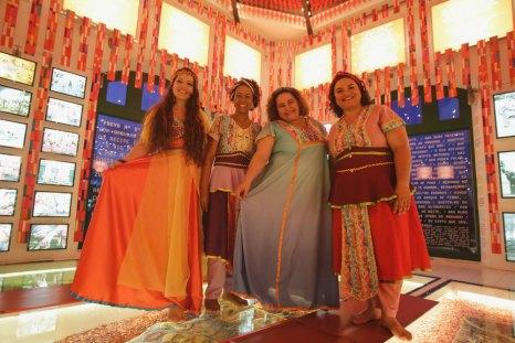 Espetáculo Minha Pequena África. Banda Cordelândia. Foto: Rafaella Ribeiro