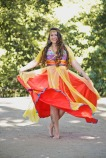 Joannah Flor. Espetáculo Minha Pequena África. Foto: Rafaella Ribeiro/Divulgação