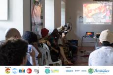 Periferia Criativa: módulo Cultura Popular – Mestre Griô. Foto: Humberto Reis