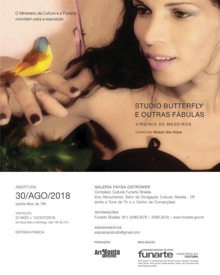 Studio Butterfly e outras fábulas-Convite