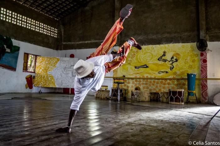 Mestre Meia Noite, fundador do Daruê Malungo. Foto: Célia Santos