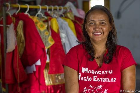Vilma Carijós, presidente do Daruê Malungo. Foto: Célia Santos