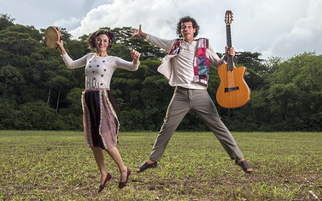 CUTIA Coletivo: Viviana Borchardt e Pochyua Andrade. Foto: Hermes Costa Neto