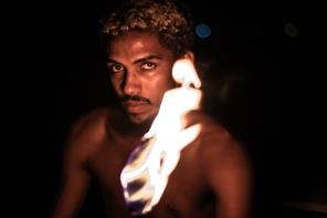 Espetáculo Meia Noite, com Orun Santana. Foto: Amanda Pietra